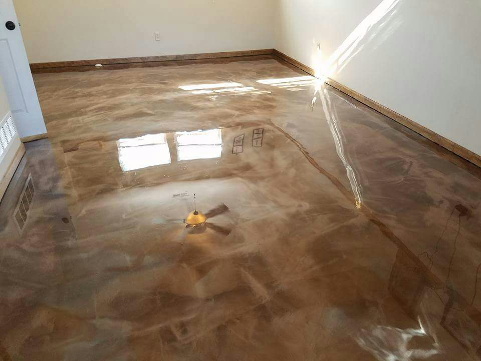 Sol r sine epoxy - Resine pour sol interieur ...